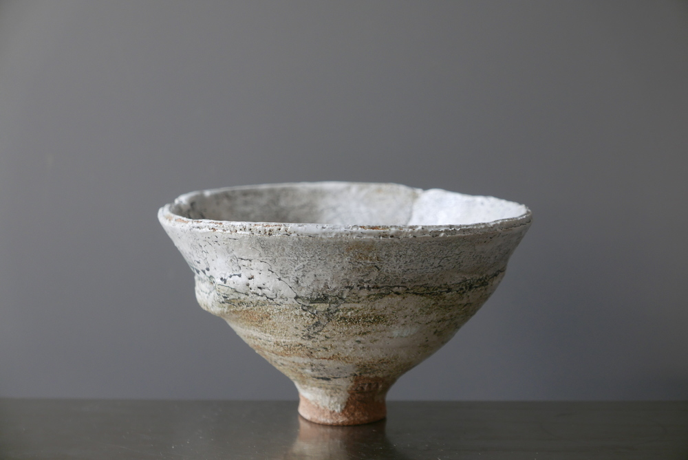 Footed Bowl. Stoneware.