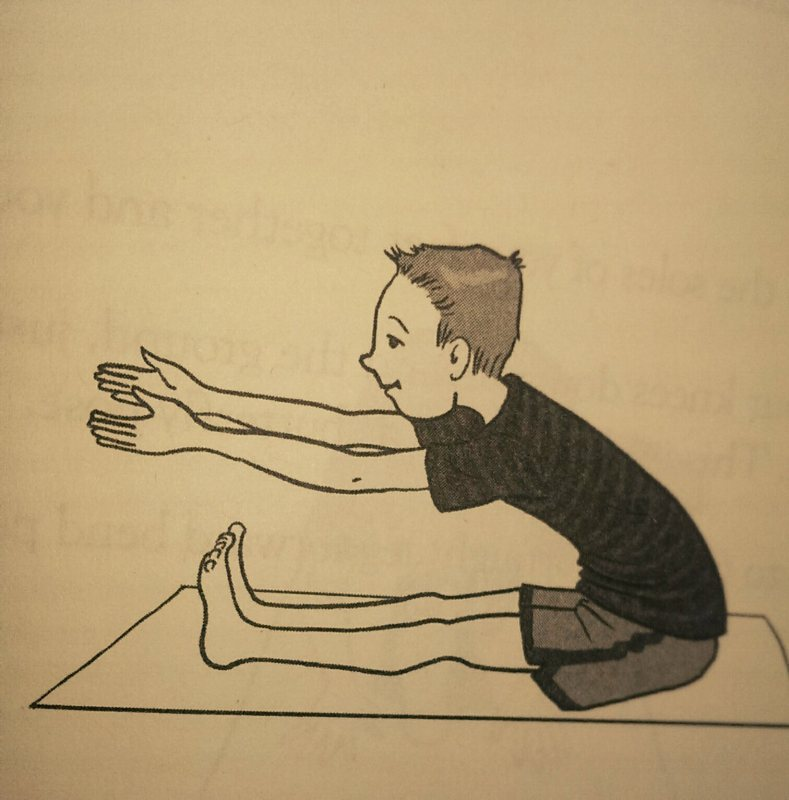 Grounding Seated Forward Bends