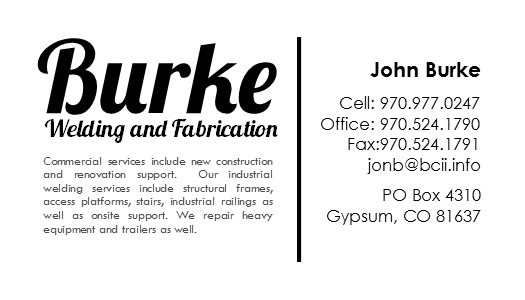 Burke Welding and Fabrication