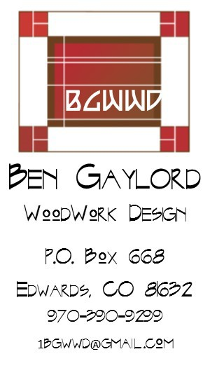Ben Gaylord Woodworking Design