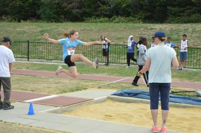 newham young athletics jump