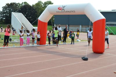 newham athletics sprint