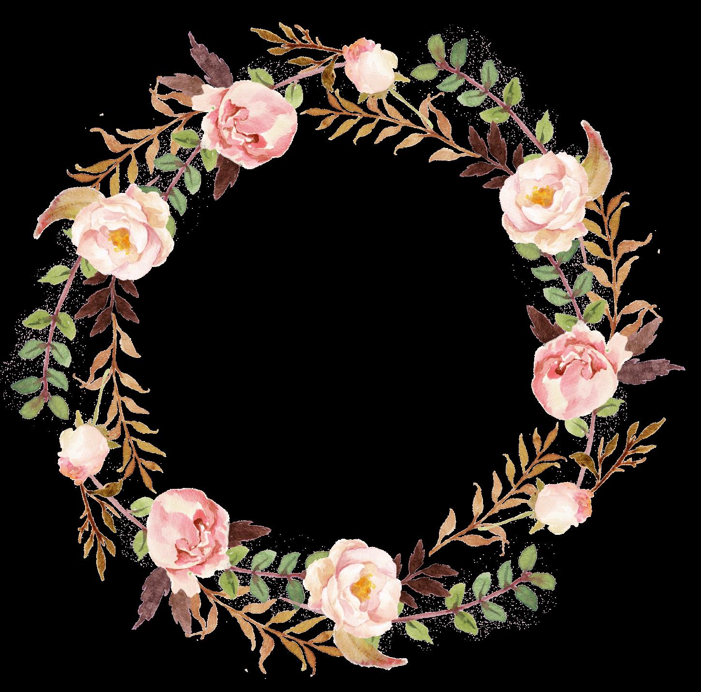 vintage floral wreath border clipart vintage floral wreath. Black Bedroom Furniture Sets. Home Design Ideas