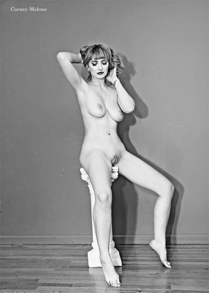 Nude on Pedestal