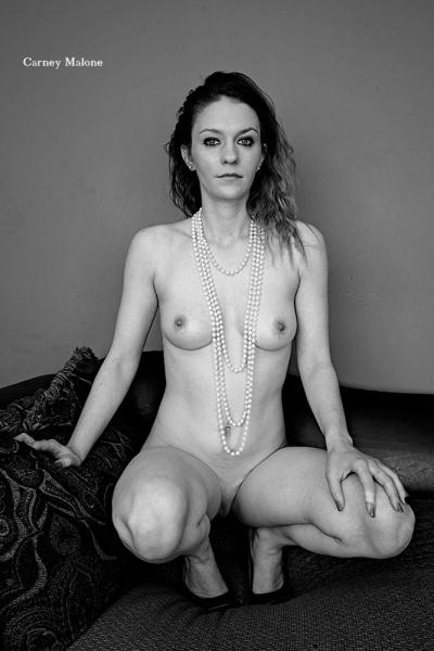 Nude Squatting