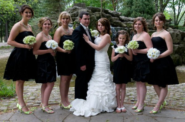 Jenn bridal party