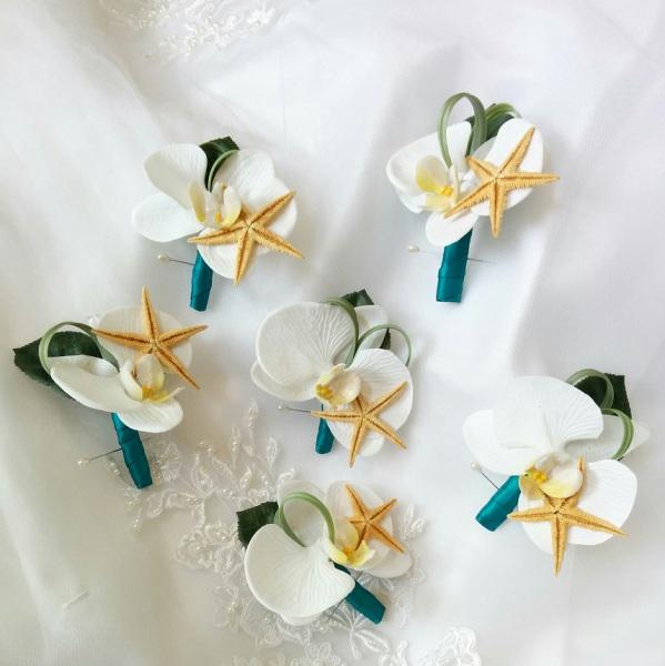 Beach wedding flowers, silk wedding bouquet, destination wedding, silk wedding flowers bouquets CANADA