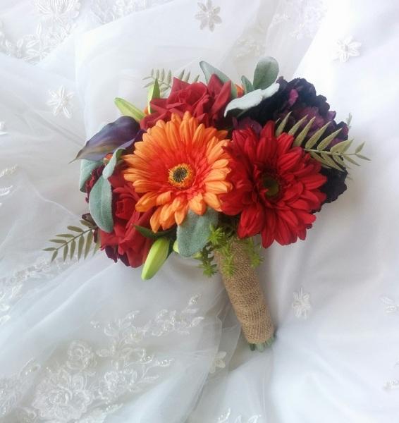 Silk Wedding Bouquets, Natural Touch wedding Flowers, Silk wedding flowers, real touch wedding flowers, silk wedding flowers in Canada and USA, beach wedding bouquets, destination wedding flowers