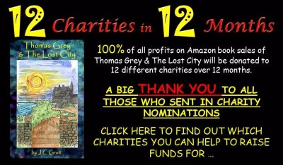 FUNDRAISER FOR 12 CHARITIES IN 12 MONTHS