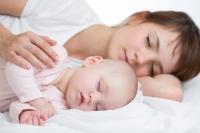 Baby Massage improves sleep