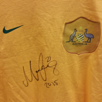 Signed Massimo Luongo No 21
