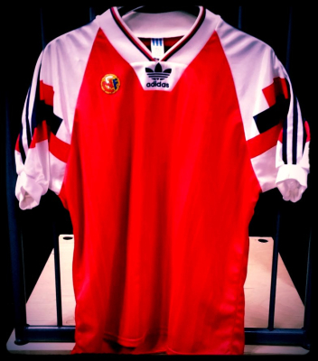 1992 Norway Home Shirt