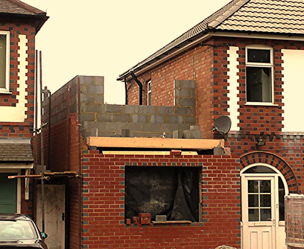 Party Wall Surveying for house extensions