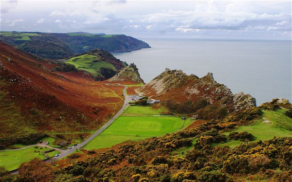 Valley-of-the-Rocks, Lynton