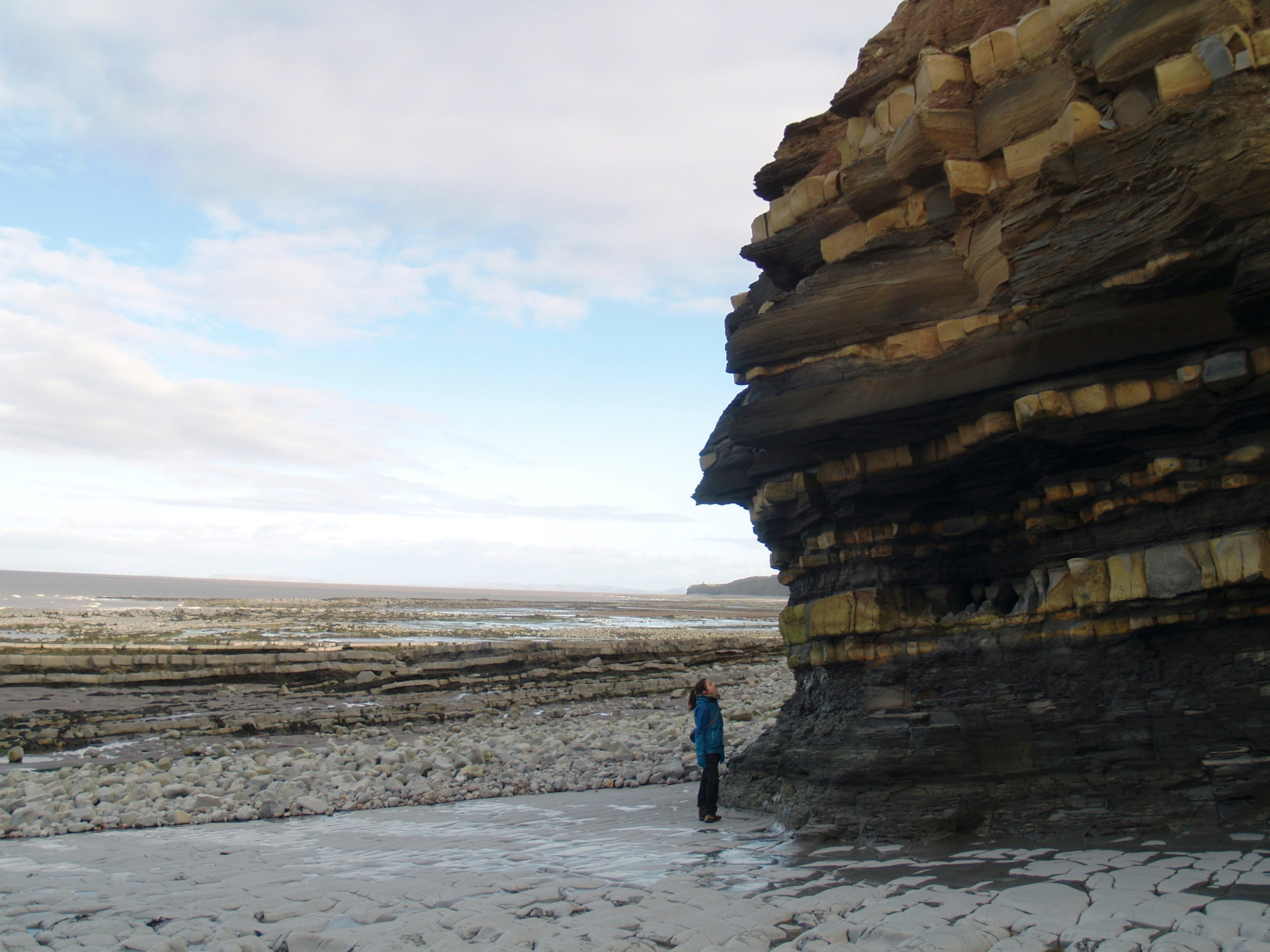 Somerset coastline geology