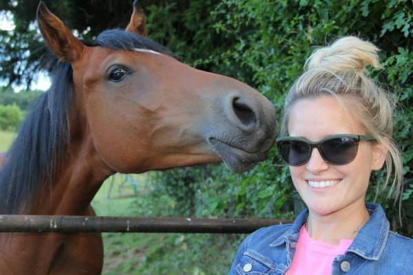 Ashley with horse