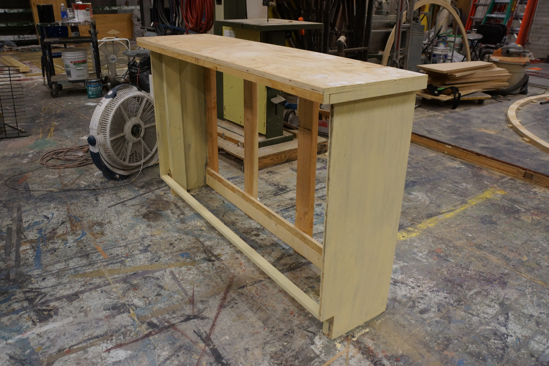 Lower cabinet base