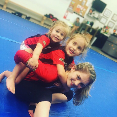 martial arts is for girls BJJ