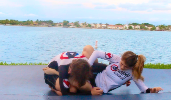 BJJ MMA attacks from guard