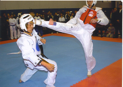 Taekwondo head kick highlights