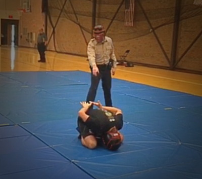 Police try to arrest Brazilian Jiu Jitsu Black Belt