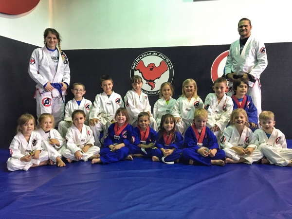 kids taekwondo and bjj