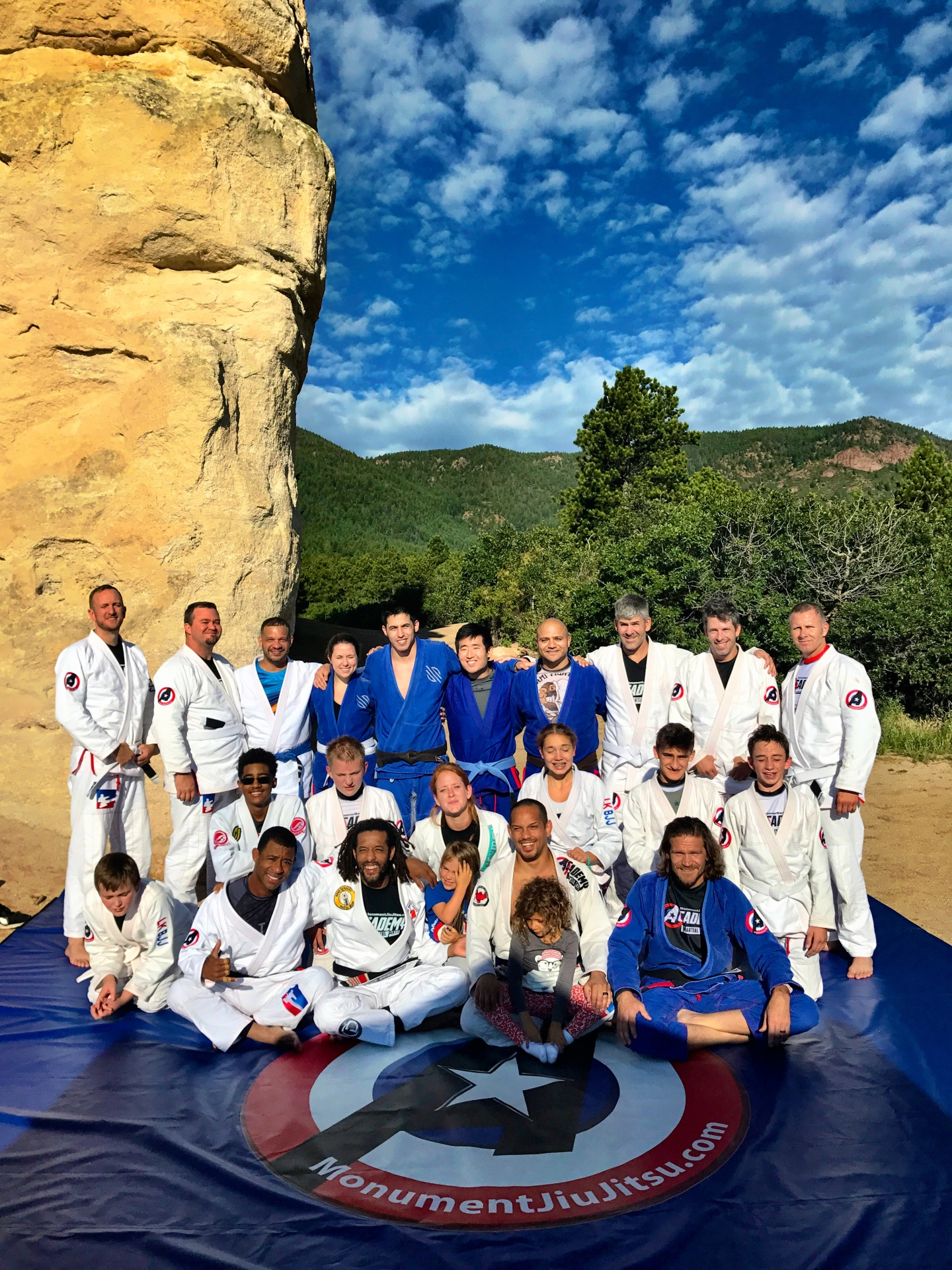 BJJ at Monument Rock
