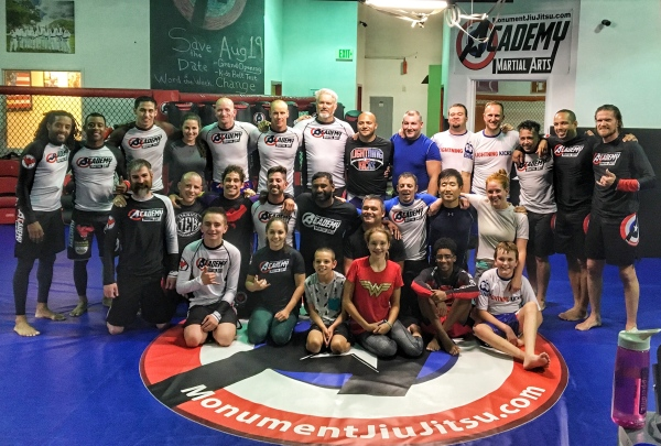 grappling and mma in monument