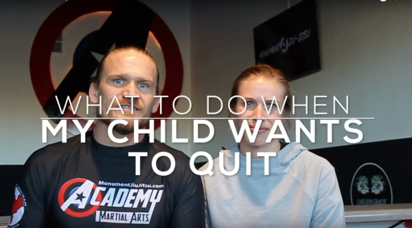 What to do when My Child Wants to Quit Martial Arts
