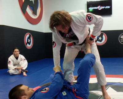 Monument Jiu-Jitsu: Week 17: Episode 4: Open Guard Pass