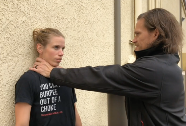 Self-Defense against the Front Choke