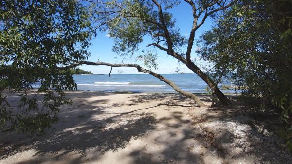 Kelleys Island Barrier Beach