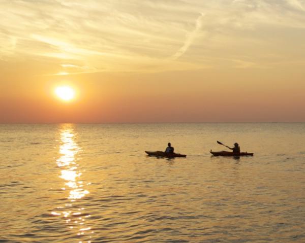 Kayaks Off Avon Point