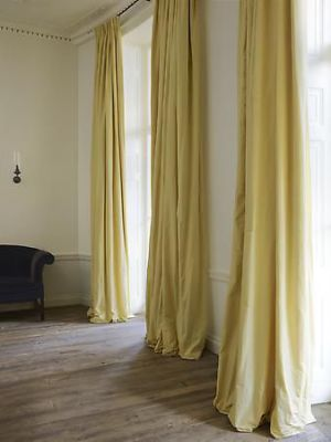Incredible pale yellow curtains
