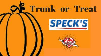 Trunk or Treat at Speck's!