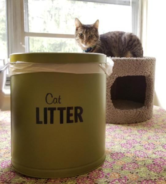 DIY Pet Storage Container