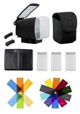 bounceLite, flash modifier, diffuser, adventure