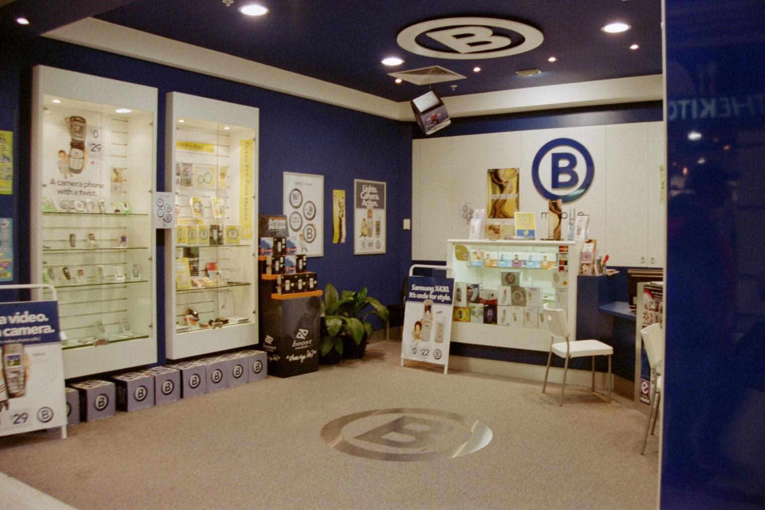 'B' [concept store] - Westfield Whitfords. W.Australia