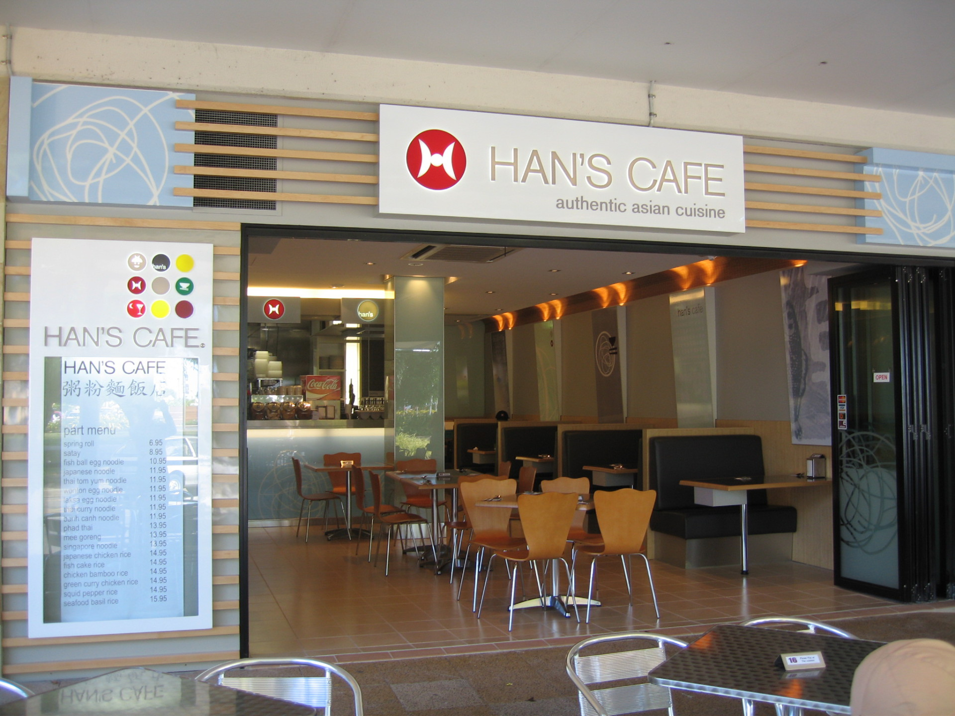 Hans Cafe - Cairns. Qld, Australia