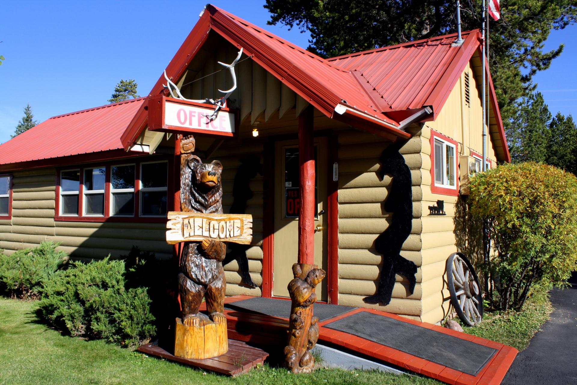 Rustic Wagon RV & Cabins Office