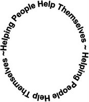 helping people help themselves circle