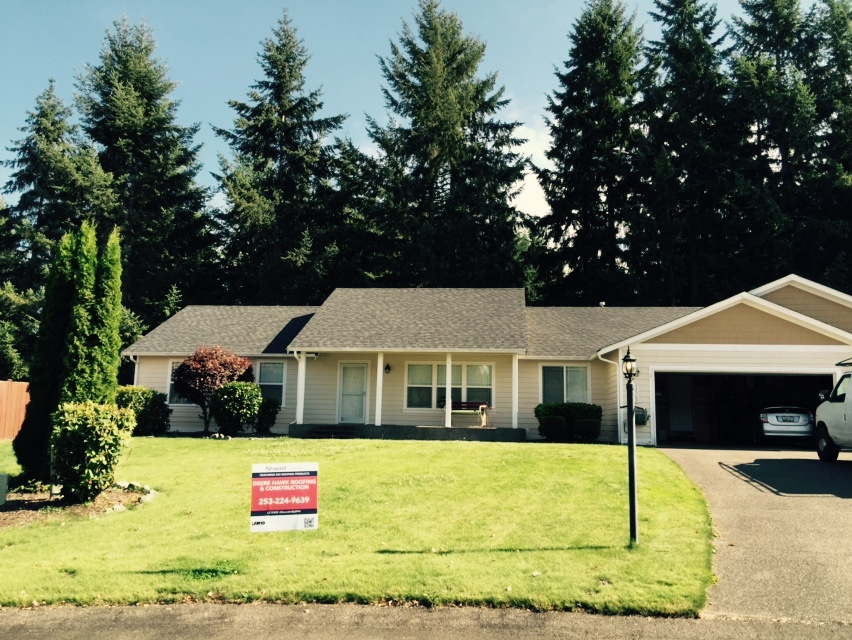 Residential Re-Roof Contractor for Spanaway, WA