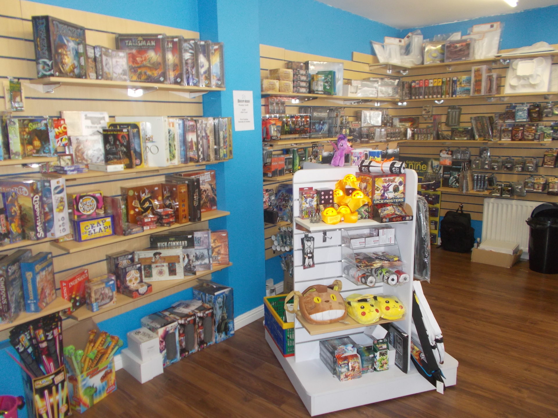A massive choice of Tabletop Games
