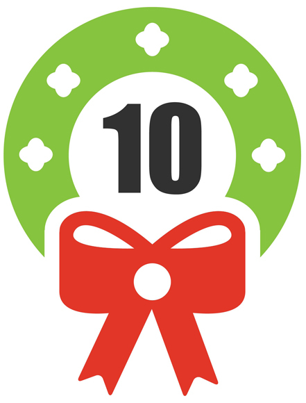 The Tenth Day of Christmas 2017