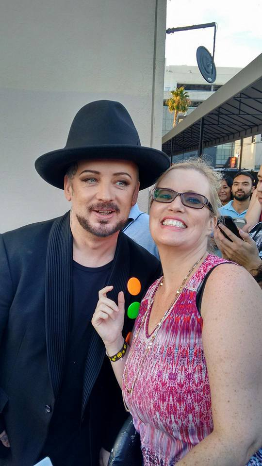 Boy George from Culture Club