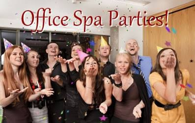 Need to boost the office morale??? Have an Office Spa Party!