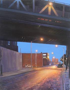 Dumbo 24x30 Acrylic on Canvas