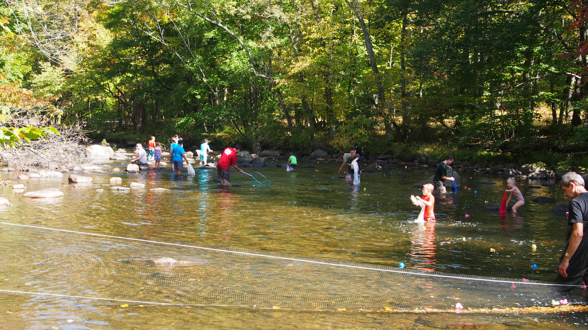 sjn picnic 2014 duck race