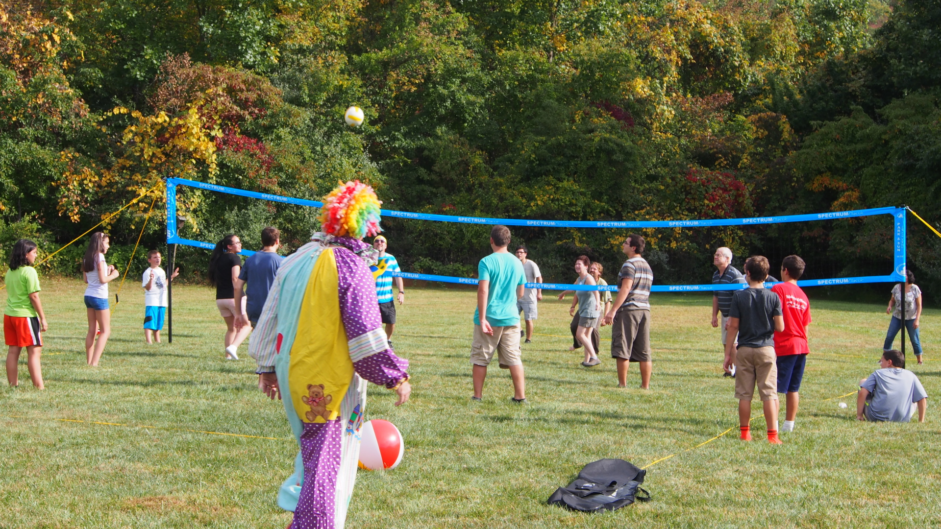sjn picnic 2014 the clown