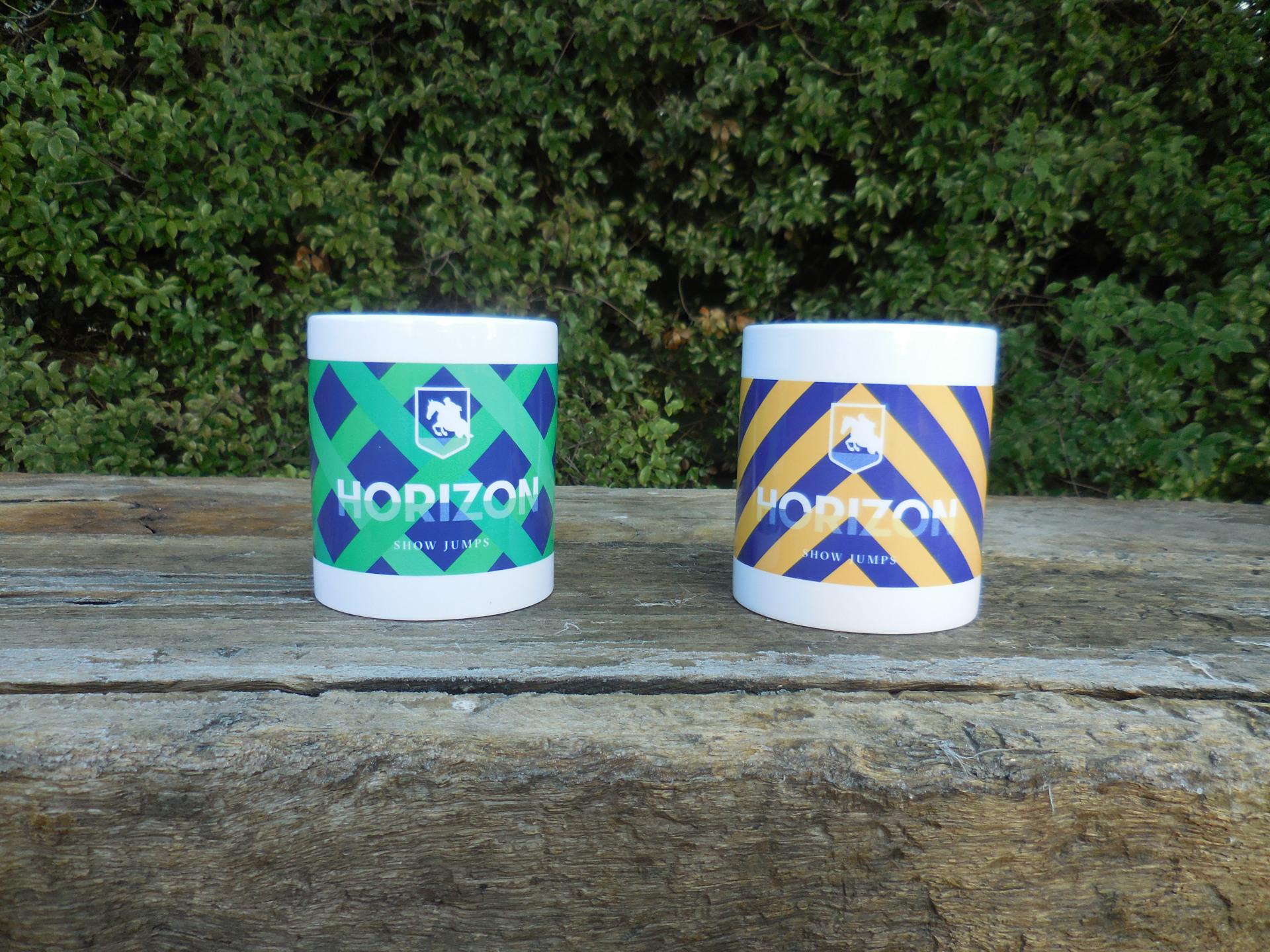 Horizon Show Jump Mugs